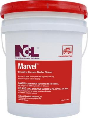 MARVEL Brushless Pressure Washer Cleaner 5 gl pail