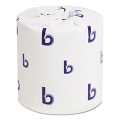 Tissue Bath Standard 2-Ply White 4x3 Sheet 500 sheets/roll 96 rolls/case