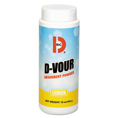 D-Vour Absorbent Powder Lemon 16oz 6/case