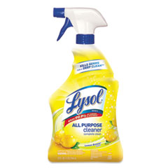 Ready-To-Use All-Purpose Cleaner, Lemon Breeze, 32oz Spray Bottle, 12/carton