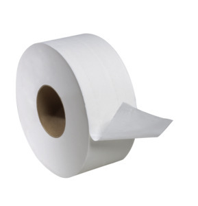 Tissue Bath Jumbo Jr. Universal 2-ply 1000'/roll 12 rolls/case